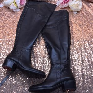 Vince Camuto Black Over the Knee Boots 8WC
